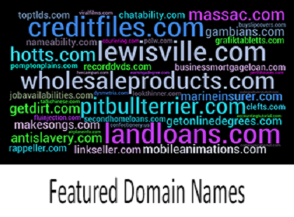 Featured Domain Names